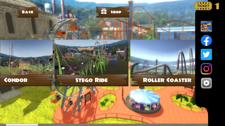 Roller Coaster VR Theme Park screenshot-5