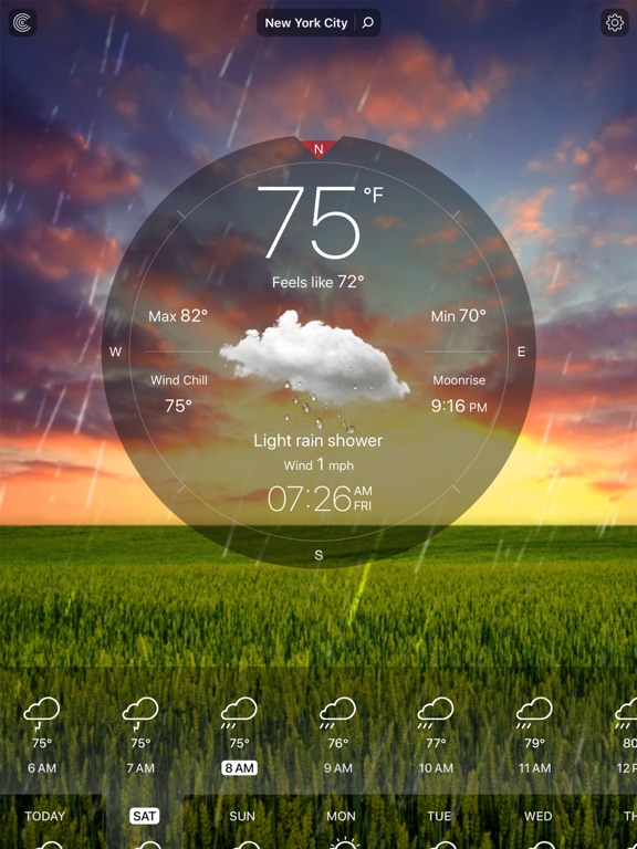 Weather Live Free - Local Weather Forecast, Temperature, and Alerts for US and the World screenshot
