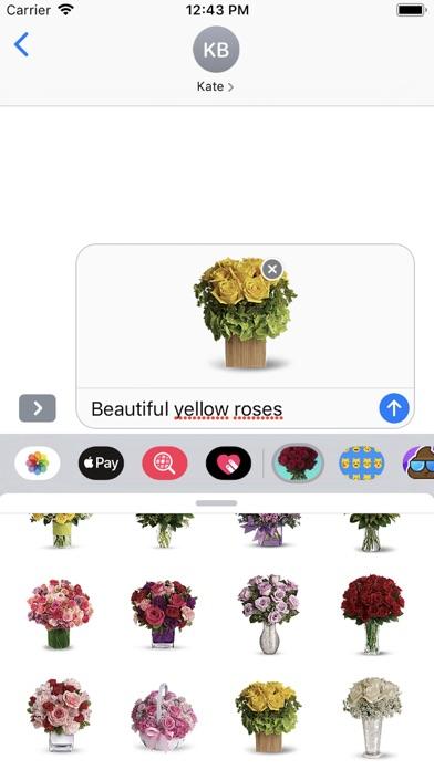 Roses-Flower Bouquet screenshot #3