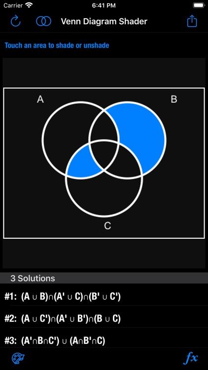 Venn Diagram Shader