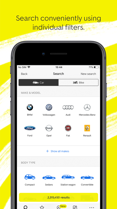 Autoscout24 Buy Sell Cars By Autoscout24 Gmbh Ios United States Searchman App Data Information