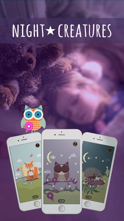 Night Creatures: Sleep Clock screenshot-0
