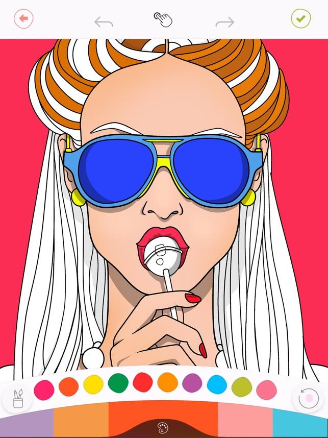 Colorfy Livro De Colorir Na App Store