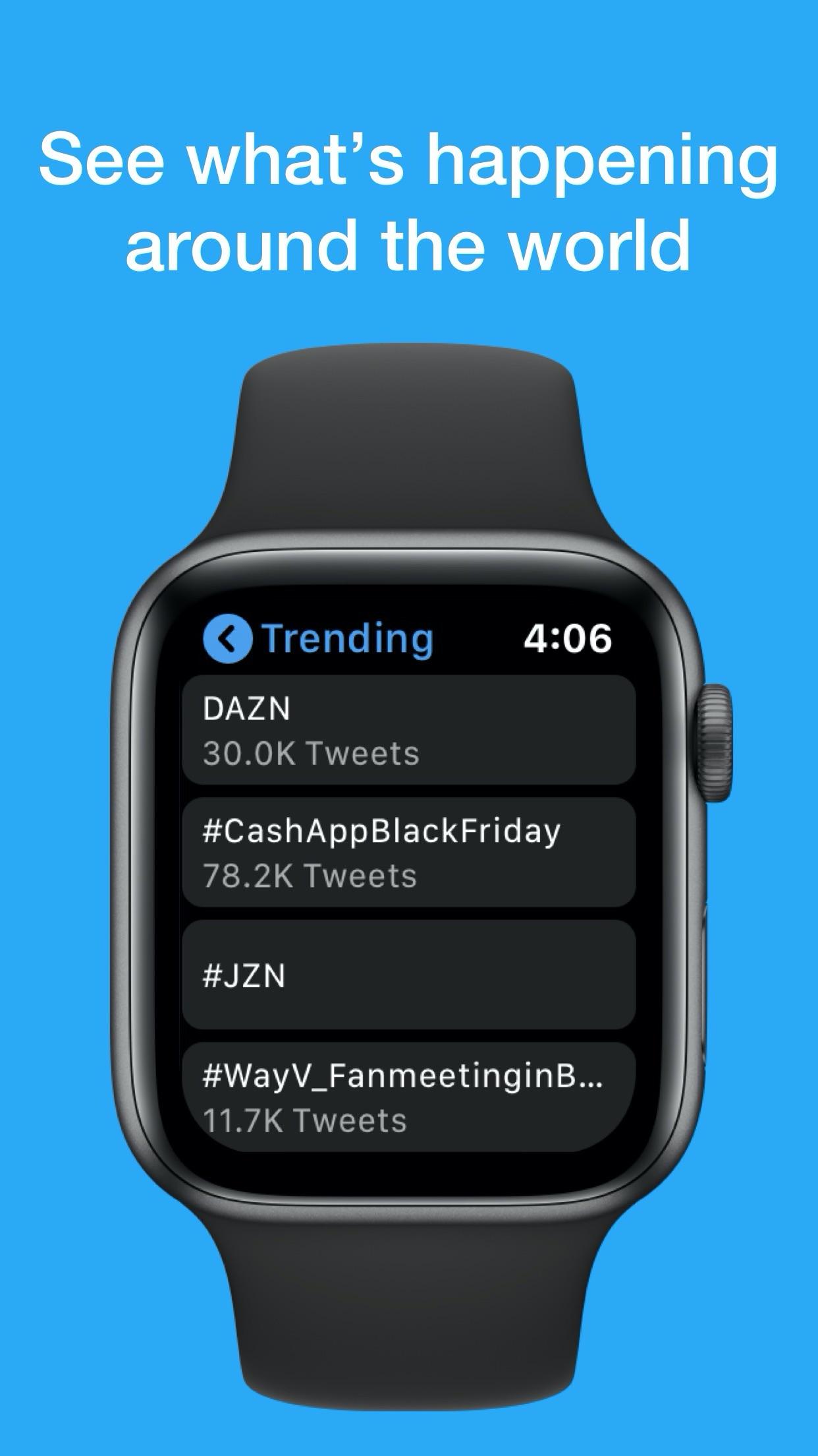Screenshot do app Chirp for Twitter