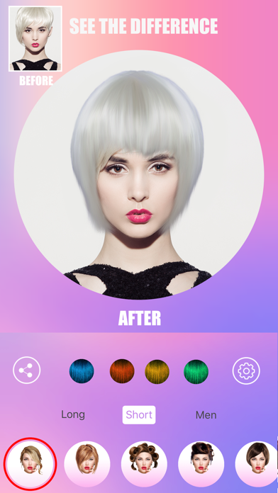 Girls Salon-Women's Hairstyles screenshot four
