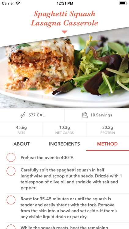 Keto Diet Recipes screenshot-7