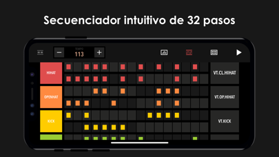 Screenshot for Drum Machine - Music Maker in Mexico App Store