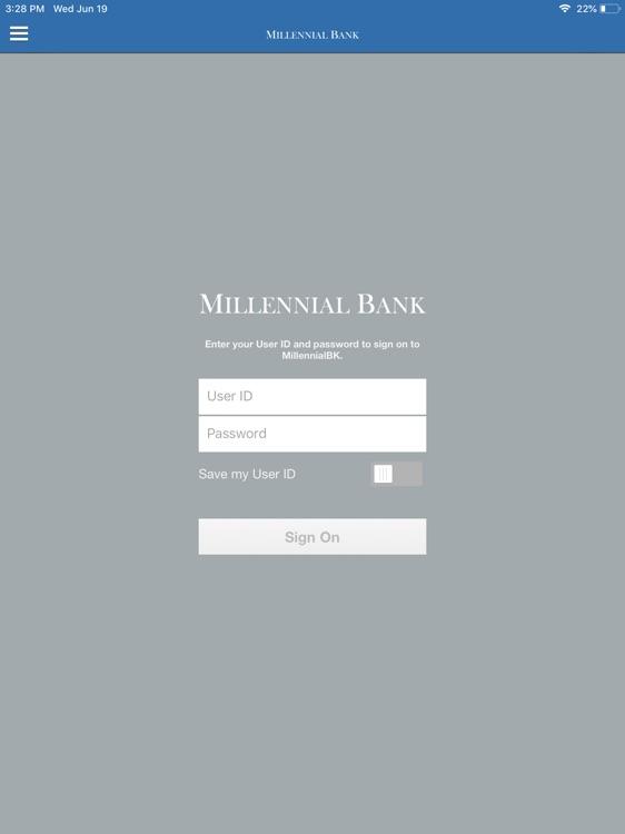 MillennialBK for iPad