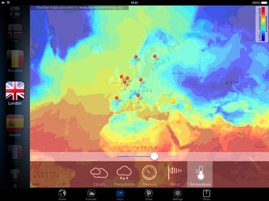 3D Earth - weather widget Screenshots