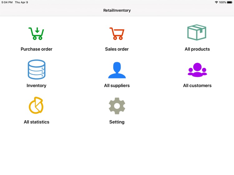 Retail Inventory+Order Manager