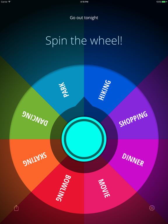 Decide Now! — Random Wheel Screenshots