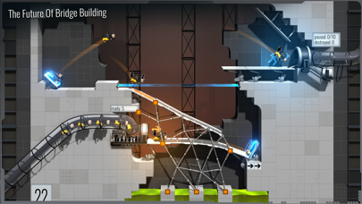 Bridge Constructor Portal Screenshots