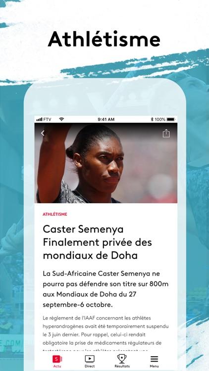 France tv sport:actu sportive screenshot-0