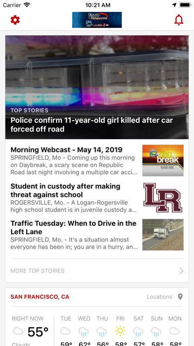KOZL KOLR News OzarksFirst com   From Nexstar Broadcasting