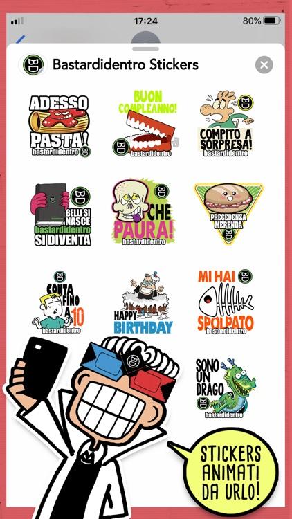 Bastardidentro Stickers