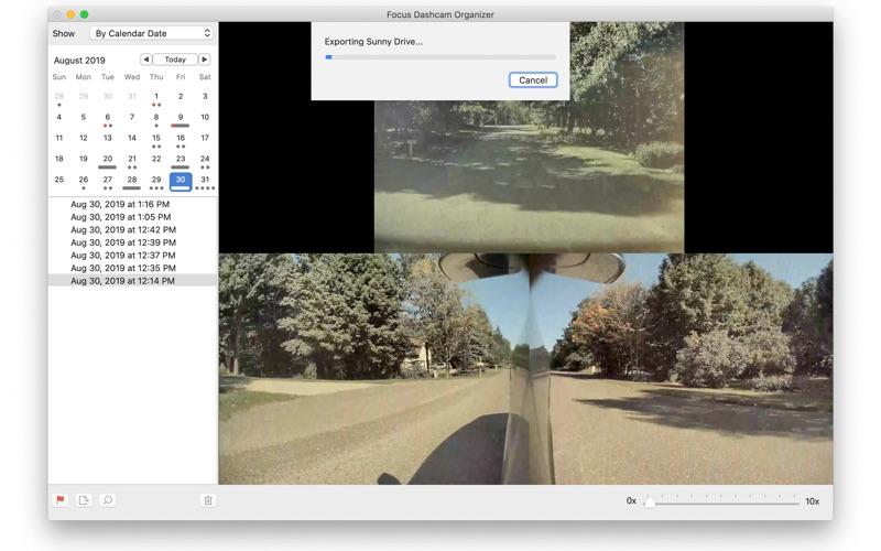 Focus Dashcam Organizer for Mac
