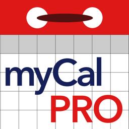 Ícone do app myCal PRO: Calendar & Events
