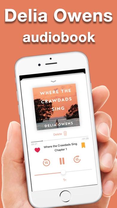 Where the crawdads - audiobook screenshot 1