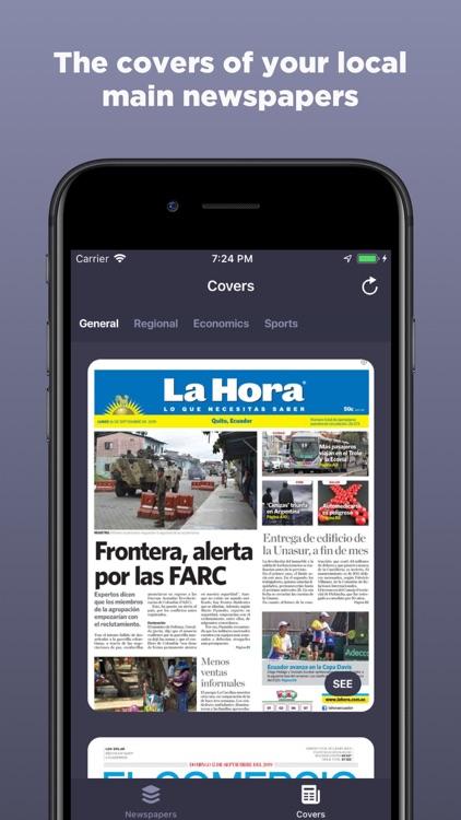 Ecuadorian Newspapers screenshot-3