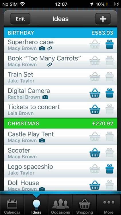 Gift Plan screenshot-3