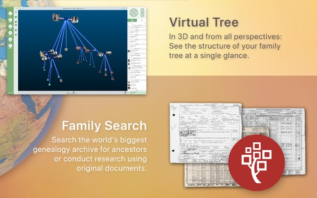 ‎MacFamilyTree 9 Screenshot