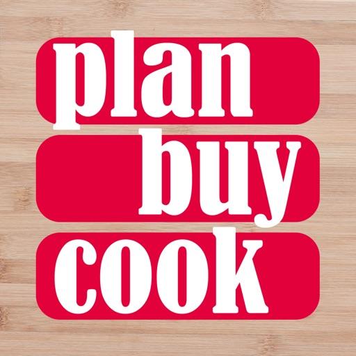 Plan Buy Cook meal planner