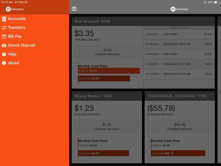 Byline Bank Business for iPad screenshot-3