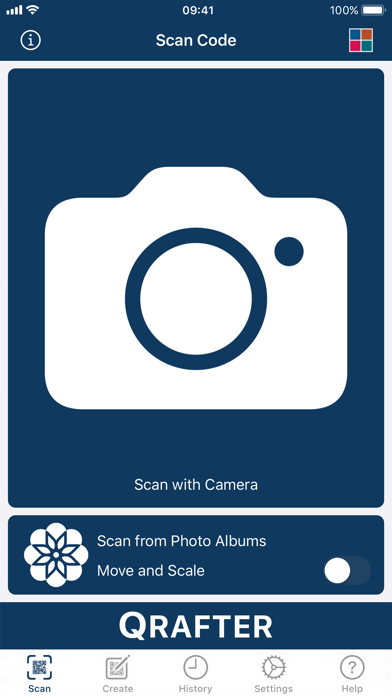 Screenshot for Qrafter Pro - QR Code Reader in United States App Store