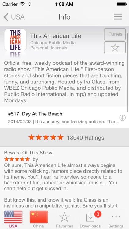 Top Podcasts screenshot-3