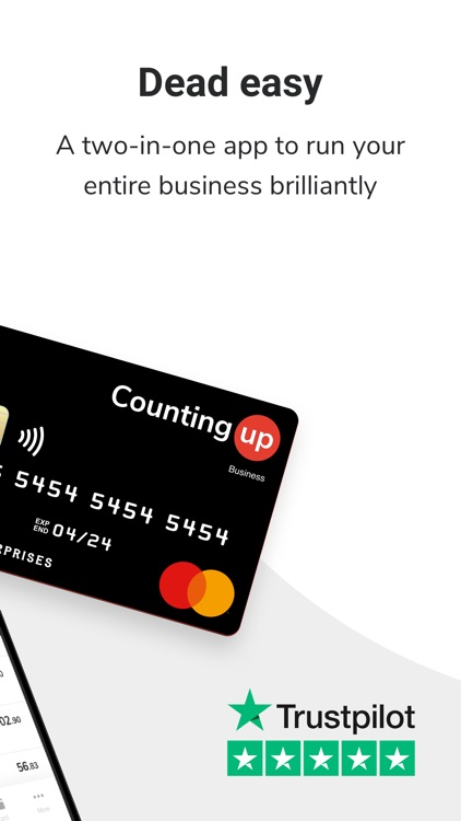 Countingup business account