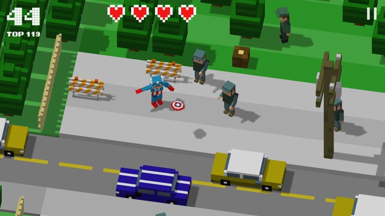 Crossy Heroes: Smashy Avengers screenshot-0