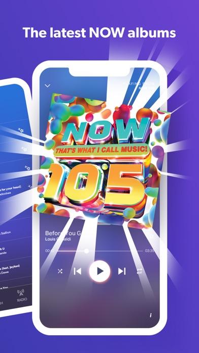 NOW Music App screenshot two