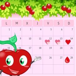 Aplicacion Calendario Menstrual.Calendario Menstrual Ovulacion En App Store