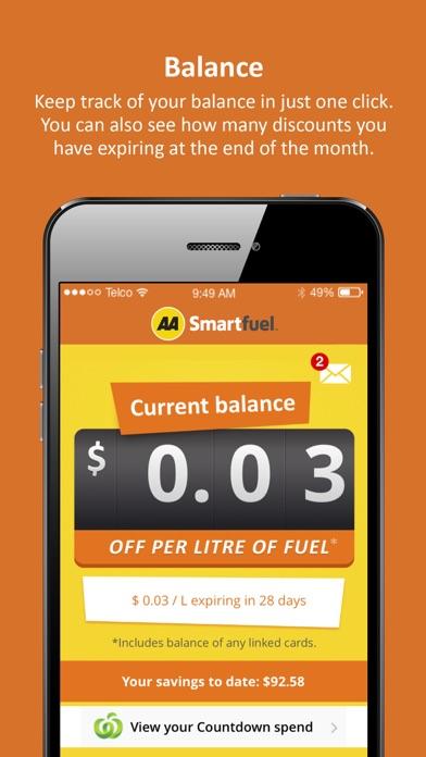 AA Smartfuel screenshot two