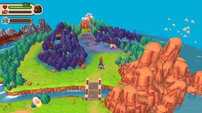 Screenshot from Evoland 2