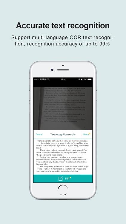 pdf scanner-Cam scanner to pdf screenshot-0