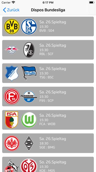 Sportcast - Dispo-AppScreenshot von 3