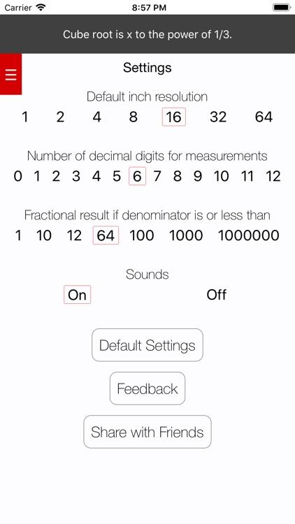 Feet&Inches Calculator screenshot-3