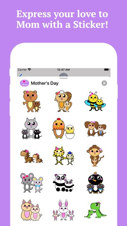 Happy Mothers Day Stickers! screenshot-3