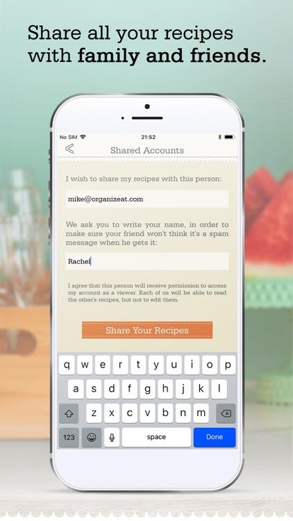 OrganizEat - recipe organizer screenshot-8