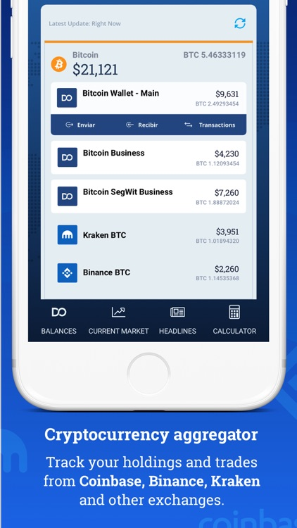 Bitcoin Wallet - DoWallet screenshot-0