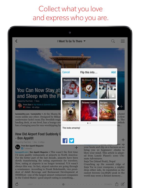 Flipboard - Latest Stories screenshot