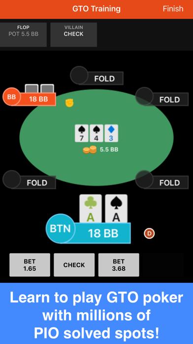 Postflop+ GTO Poker Trainerのおすすめ画像1