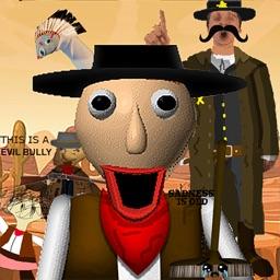 Sheriff Baldi in Wild West