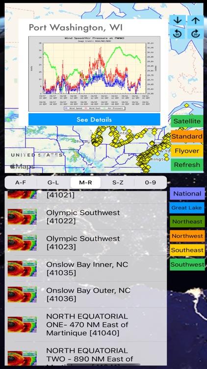Instant NOAA Buoys 3D Pro screenshot-4