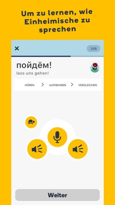 Screenshot for Lerne Sprachen mit Memrise in Germany App Store