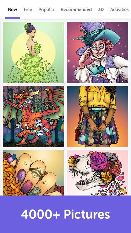 Recolor - Adult Coloring Book screenshot-3