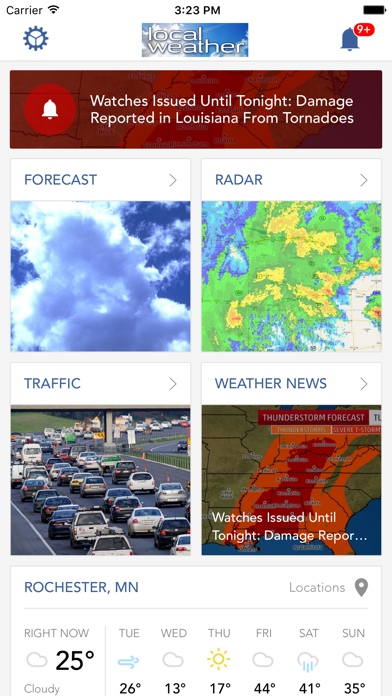 Local Weather Radar Forecast review screenshots