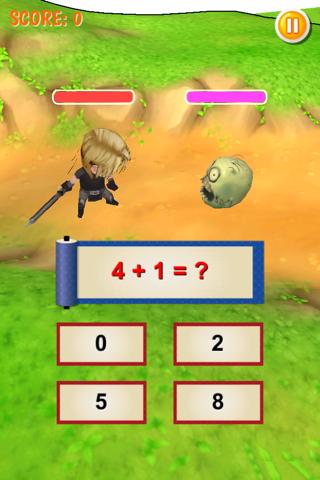 Math Battle 3D - náhled