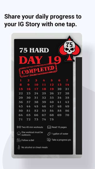 75 Hard app image